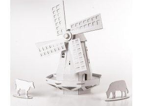 LEOLANDIA Větrný mlýn, bílý