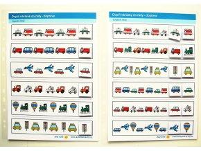 Jiný svět Logické řady - doprava. 2 Strukturované listy do desek